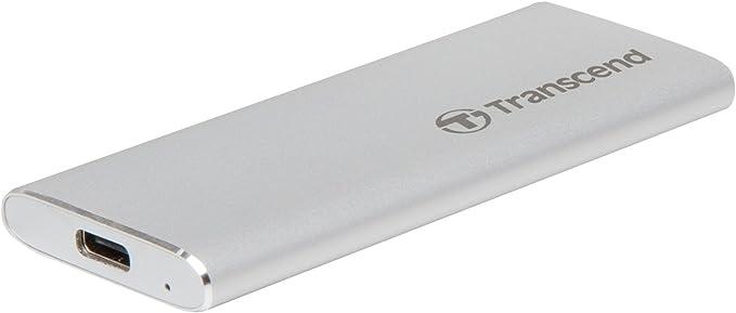 TALLA 240 GB. Transcend TS240GESD240C 240 GB ESD240C, M.2, USB Type-C, 3.1 (3.1 Gen 2), 520 MB/s TS240GESD240C Unidad de Disco óptico