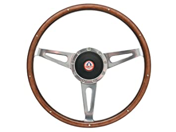 Cap Emblem 1965-1966 Ford Mustang Wood Steering Wheel Center Cap