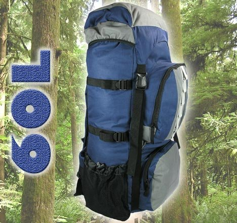 60LB Trekking Wander Rucksack Freizeit Outdoor Tasche Modell ELECSA 3042