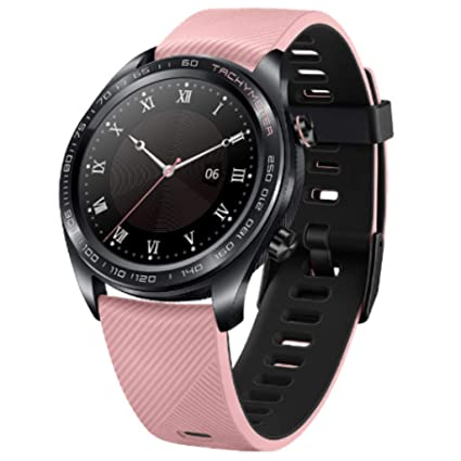 Skryo👍👍 Huawei Honor Watch Dream Smart Watch Sport Sleep Run Ciclismo Natación GPSAMOLED (oferta limitada) (Black)
