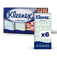 KLEENEX FACIAL ON THE GO Out of Home Facial To-Go Pocket tissue, 0.14kg, Pack of 54