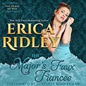 The Major's Faux Fiancee: Dukes of War, Book 4 | Erica Ridley