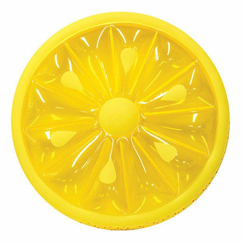 Amazon.com : Lemon Floating Row Pool Float Beach Lemon Swimming Toy Fruit Slice Float Floatie Air Mattress Swim Ring Inflatable Toy : Sports & Outdoors