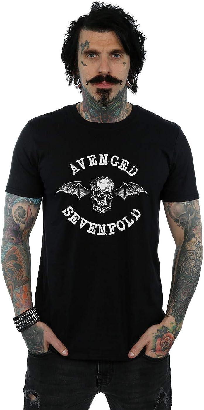 Absolute Cult Avenged Sevenfold Hombre Death Bat Camiseta