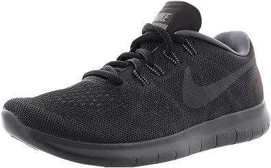 NIKE Womens Free Rn 2017 Black/Anthracite Dark Grey Running Shoe 10 Women US: Amazon.es: Zapatos y complementos