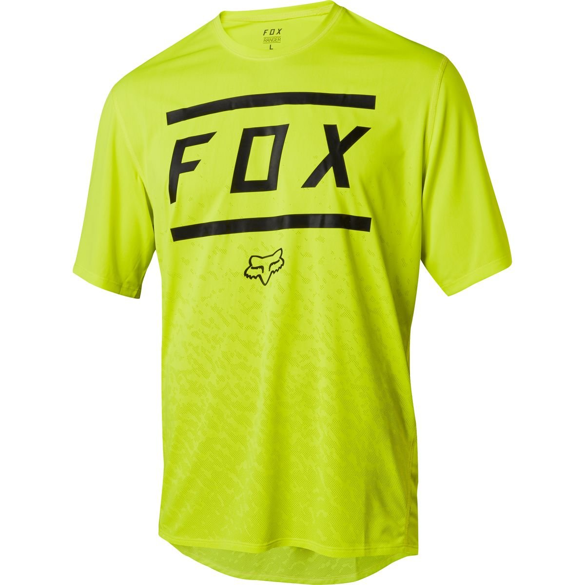 Fox Racing Ranger Jersey - Men's Bars Yellow/Black, L