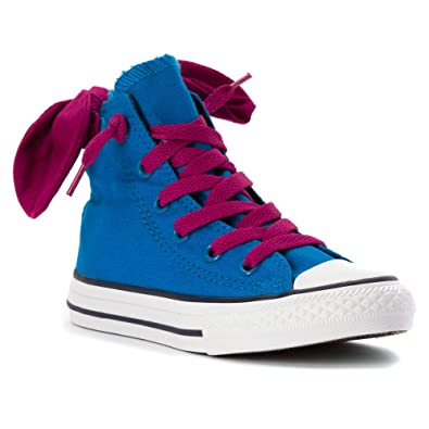 3079709a16eb Converse CT Bow Back HI Cyan Space Purple Size 11 Little Kid  Amazon ...
