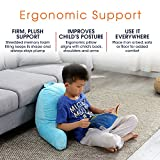 Cheer Collection Kids Size Reading Pillow with Arms