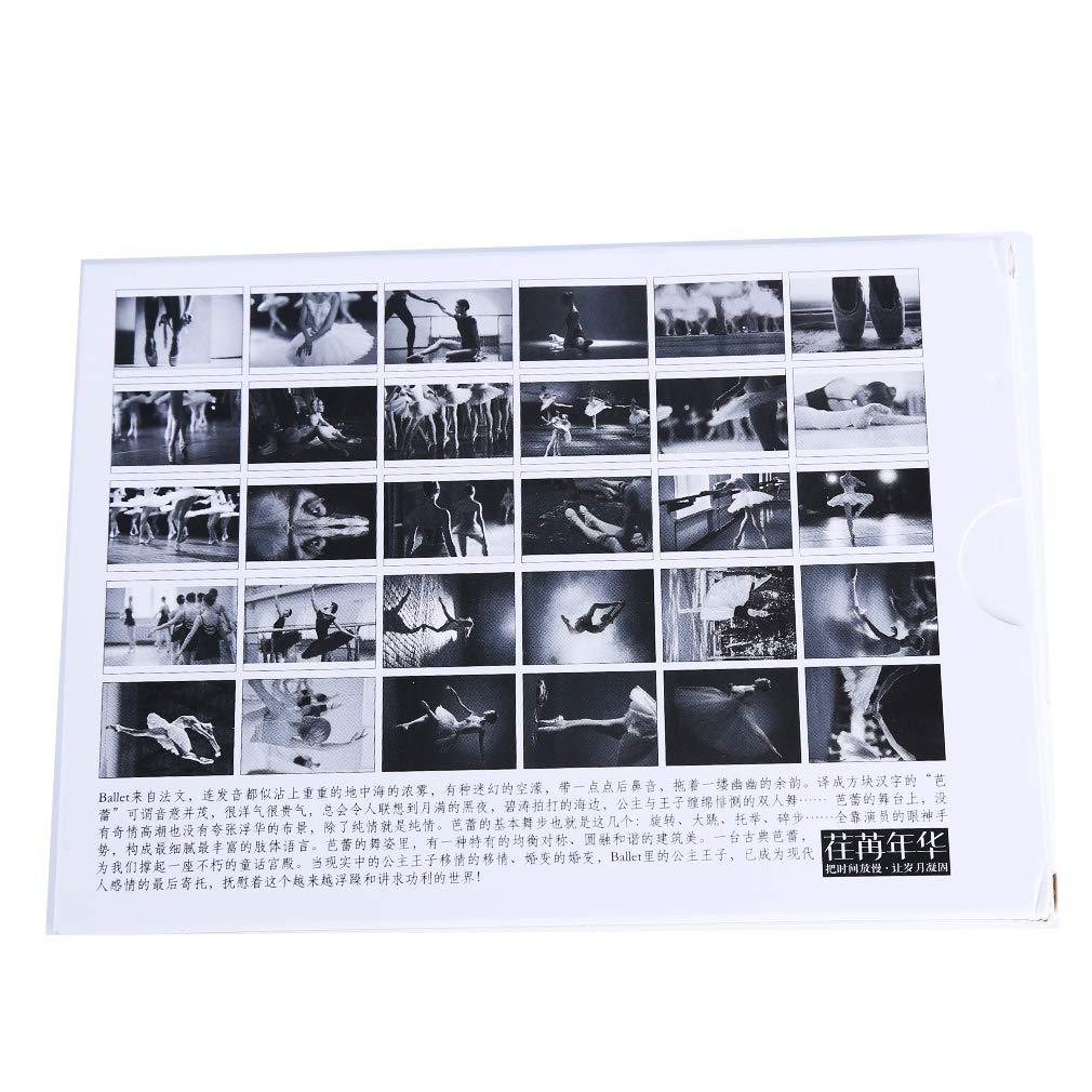 LIXIAQ1 30 St/ücke Vintage Retro Traum Ballett Postkarten EIN Set Ballettt/änzer Postkarten f/ür Wert Sammeln Gru/ß