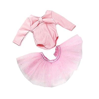 MagiDeal Poupée Fille Vêtement Ensemble T-shirt Jupe Robe Pantalon Pour 18inch American Girl Dolls Décor Divers - #11