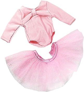 Amazon.es: MagiDeal Vestido de Falda Flaco de Traje de Danza de ...