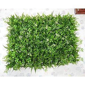 AODEW 40x60CM Artifical Grass Fake Lawn Artificial Flowers Plants Micro-landscape Creative Simulation of False Moss Ornament Dollhouse Fake Lawn Miniature Decor 51