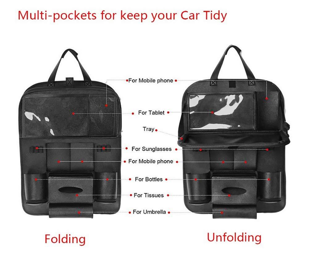 0e1bf4e08230 Amazon.com : ZLQF Organizer with Tablet Holder, Car Organizer for ...