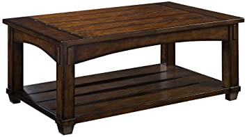 Amazoncom Hammary Tacoma Rectangular Lift Top Cocktail Table in