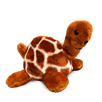 Eddie Teddie & Co. Turtle Plush, Stuffed Animal, Tortoise Soft Toys & Gifts for Kids (Gold)