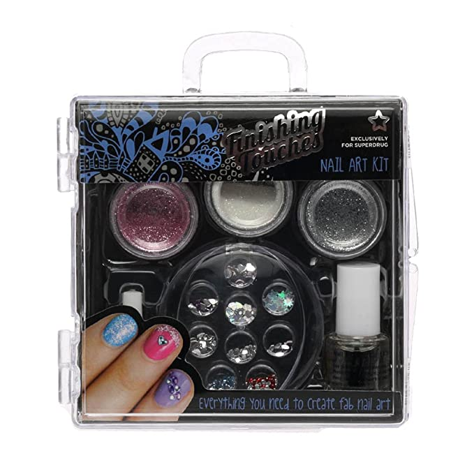 New Superdrug Finishing Touches Professional Look At Home Nail Art ...