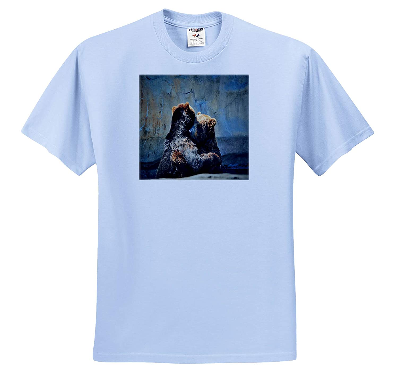 3dRose Dreamscapes by Leslie Bear Hug ts/_314220 Adult T-Shirt XL Animals