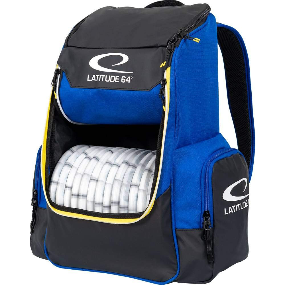 Latitude 64 Golf Discs Core Backpack Disc Golf Bag - Blue by Latitude 64