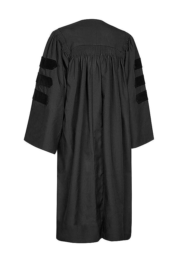 GraduationMall - Maletín clásico de graduación vestidos de novia de doctorado: Amazon.es: Ropa y accesorios