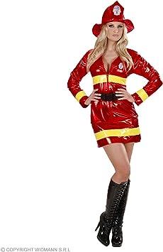 Disfraz de bombero rojo mujer sexy - M: Amazon.es: Salud y cuidado ...