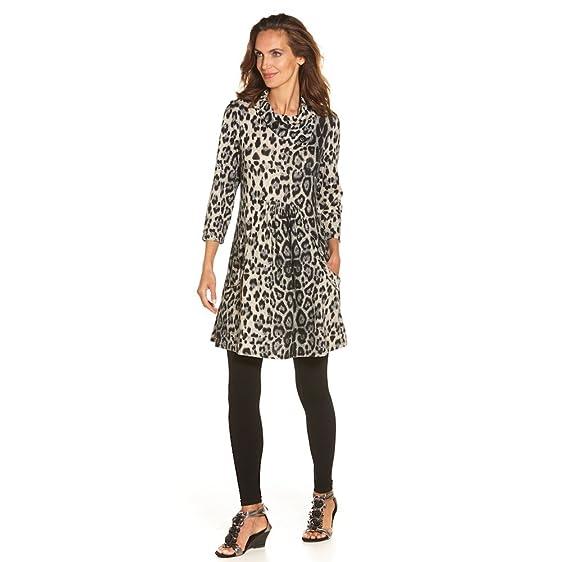 CATALOG CLASSICS Women\'s Dress - Nimbus Leopard Print Brushed Knit ...
