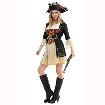 ZYFDFZ Cosplay Traje Ropa de Alto Rendimiento Ropa Pirata ...