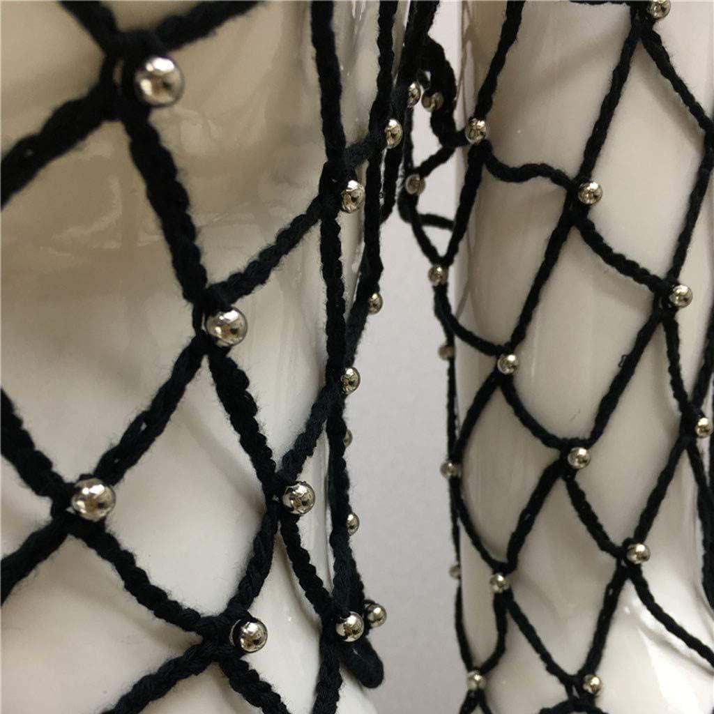 Togethor Womens Sheer Mesh See-Through Short Sleeve Crop Tops Casual T Shirt Glitter See Through Top Tee Blouse