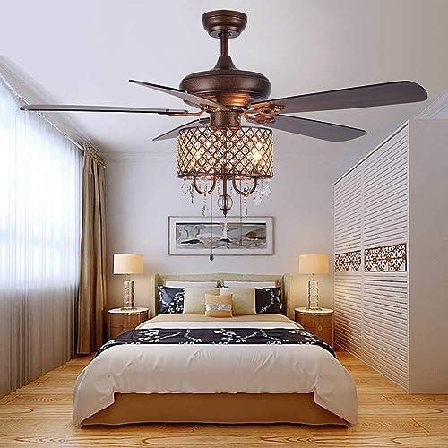 Andersonlight Rustic Ceiling Fan