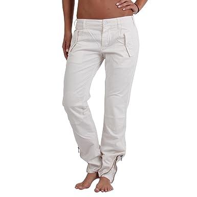eaa5816c30 Mason's Masons Evita - Pantaloni Cargo Ecru cbe109 Bianco bianco ...