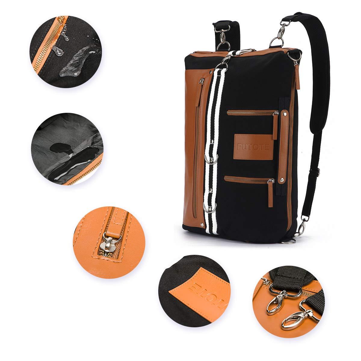 Canvas Laptop Backpack for Men Travel