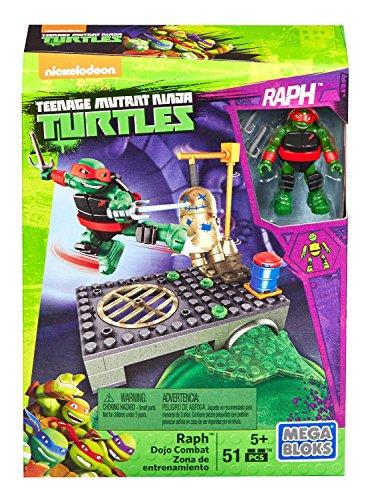 [Mega Bloks Teenage Mutant Ninja Turtles Raph Dojo Combat Playset] (Teenage Mutant Ninja Turtles Raph)