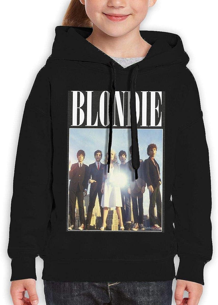Guiping Blondie Teen Hooded Sweate Sweatshirt Black