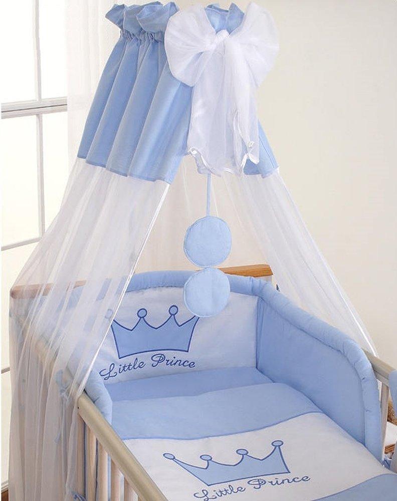Housses de couette et doreiller pour lit b/éb/é 120x60 Prince bleu