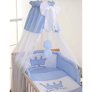 Housses de couette et d'oreiller Prince bleu - 120x60