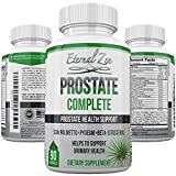 Prostate Complete Support Health Supplements Saw Palmetto Pygeum Beta-sitosterol Zinc Red Raspberry Leaf Graviola Green Tea Reduce Frequent Urination Maintain Healthy Urinary Tract Homeopathic Herbs For Sale