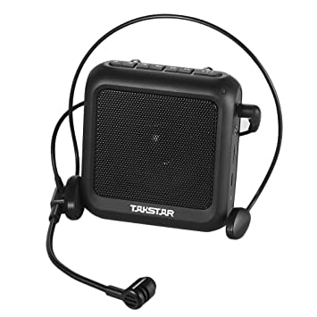 Muslady TAKSTAR E270 Amplificador de voz portátil Amp BT Speaker 12W Batería recargable incorporada con micrófono para la enseñanza del Tour Guiding ...