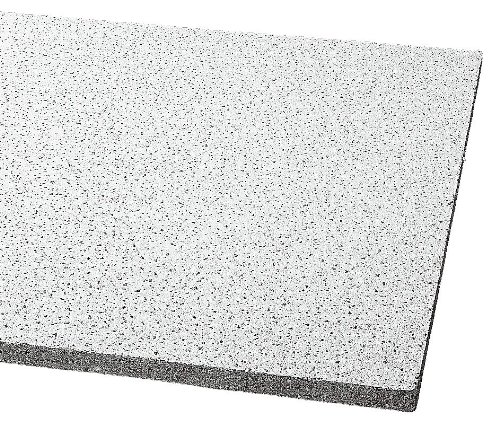 Acoustical Ceiling Tile 48''X24'' Thickness 5/8'', PK8 by Armstrong