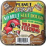 C and S CS12507 Peanut Delight No-Melt Suet Dough, 11.75 Oz