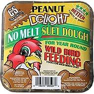 C&S Peanut Delight No-Melt Suet Dough, 11.75 Ounce