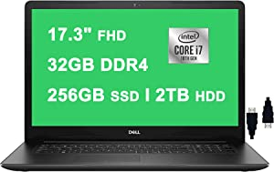Dell 2021 Inspiron 17 3000 3793 Premium Laptop I 17.3