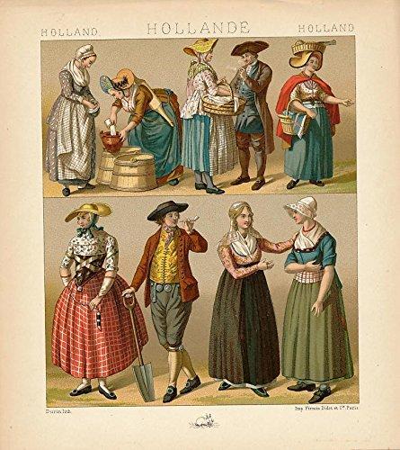 holland-dutch-native-costume-pipe-c-1880s-antique-color-ethnic-print