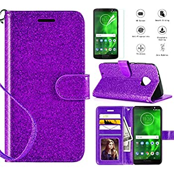 O-Grey MOONESS Samsung Galaxy A51 Flip Phone Case,Galaxy A51 Wallet Case,PU Leather Case Kickstand Feature Card Slots and Magnetic Closure For Samsung Galaxy A51