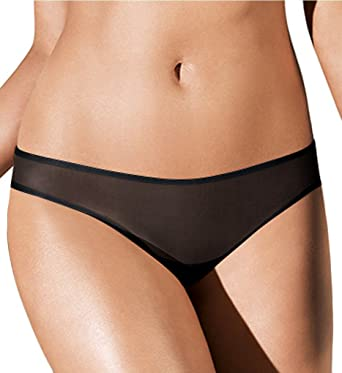 6fa15f53ca Wolford Women s Sheer Touch String black S  Amazon.co.uk  Clothing