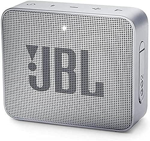 JBL JBLGO2GRY GO 2 kleine muziekboxwaterdichte draagbare Bluetoothluidspreker met handsfree functietot 5 uur muziekgenot met slechts één acculading grijs 86 x 31 x 71 cm ; 186 g