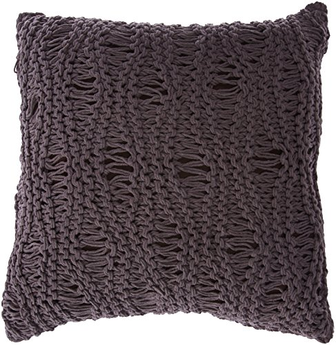 IMAX 42150 Satoria Chocolate Crochet Pillow (Pillows For Couch Crochet)