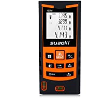 Suaoki S9 330ft Laser Distance Measure with 2 Bubble Levels