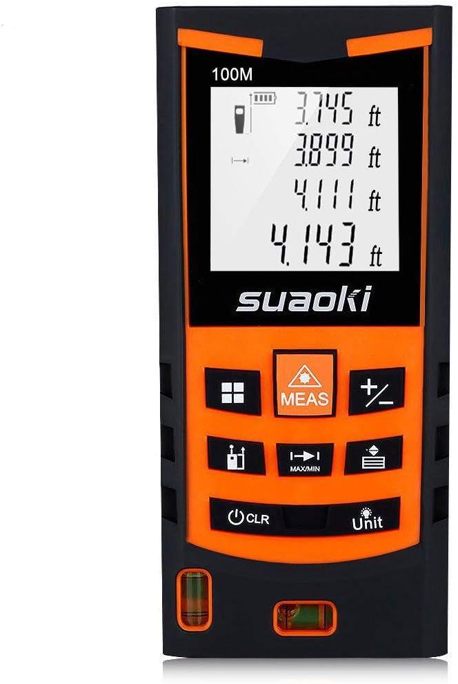SUAOKI S9 330ft Laser Distance Measure