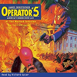 Operator #5 V1: The Masked Invasion Audiobook