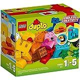 【3月新品】 LEGO 乐高 DUPLO 得宝系列 乐高 得宝 创意拼砌箱 10853 1½-5岁 积木玩具 婴幼