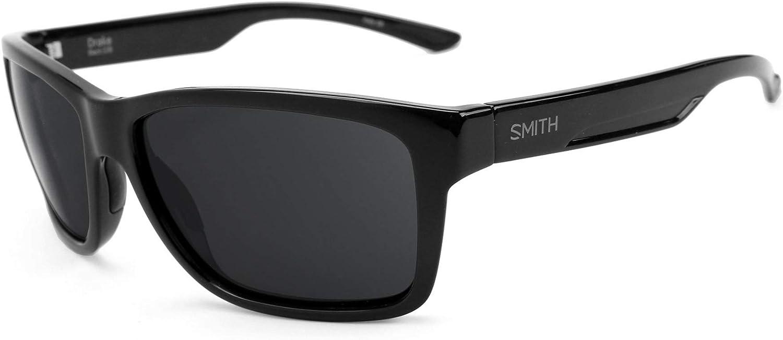 Revant Verres de Rechange pour Smith Drake - Compatibles avec les Lunettes de Soleil Smith Drake Bronze Mirrorshield - Polarisés